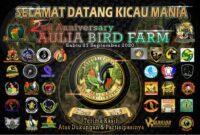 Lomba Aulia Bird Farm