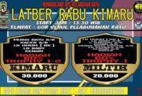 Latber Burung Hari Rabu Kimaru Pelabuhan ratu Sukabumi