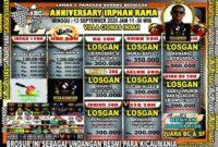 Lomba Burung Bogor 13 September 2020 ( Anniversary Irphan Rama )