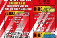 Lomba Burung Sukabumi Gor Venue Pelabuan Ratu 6 september 2020