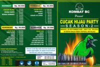 lomba Cucak Ijo Boyolali, 20 September 2020 ( KOMBAT BC )